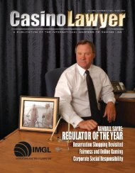 IMGL Officers - International Masters of Gaming Law