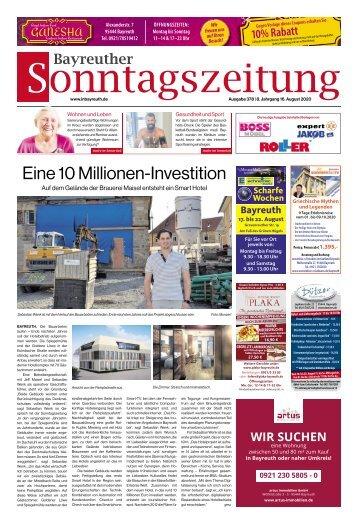 2020-08-16 Bayreuther Sonntagszeitung