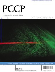 Ultrafast laser spectroscopy and control of ... - NCCR MUST