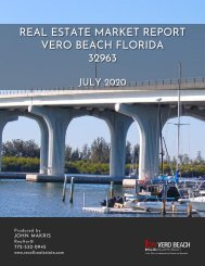 Vero Beach 32963 Real Estate Market Report July 2020