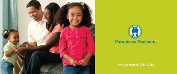 annual report 2011-2012 - Parents as Teachers