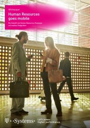Whitepaper: Human Resources goes mobile