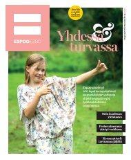 Espoon kaupungin lehti asukkaille 3/2020