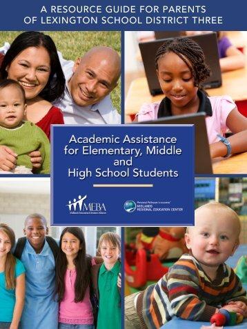 Lexington Three Parent Resource Guide - MEBA