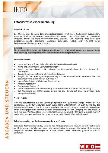Pflichtangaben Rechnung Checkliste : checkliste rechnungen ~ Themetempest.com Abrechnung