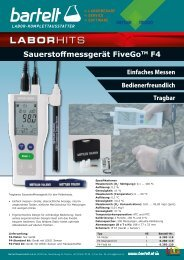 Laborhit: Sauerstoffmessgerät FiveGo™ F4 von Mettler Toledo