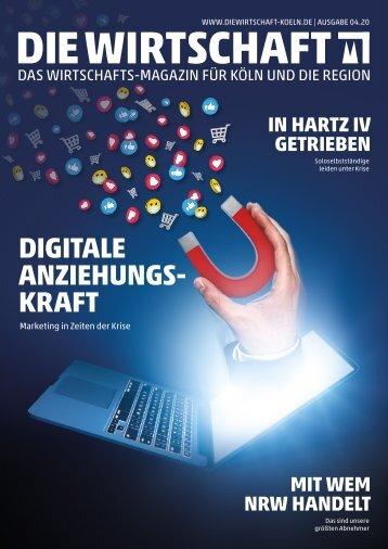Die Wirtschaft Köln - Ausgabe 04 / 2020