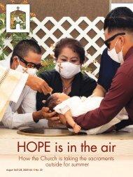 Angelus News | August 14-21-28, 2020 | Vol. 5 No. 22