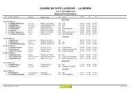 COURSE DE COTE LA ROCHE - LA BERRA - Gruyère Racing Team