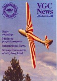 No. 110 Winter 2003 - Lakes Gliding Club