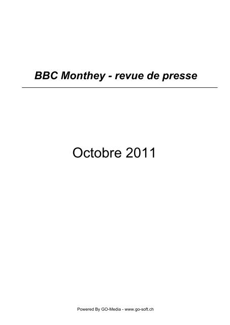 basketball - BBC Monthey
