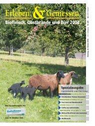 Erleben & Geniessen 2004 - Volksstimme