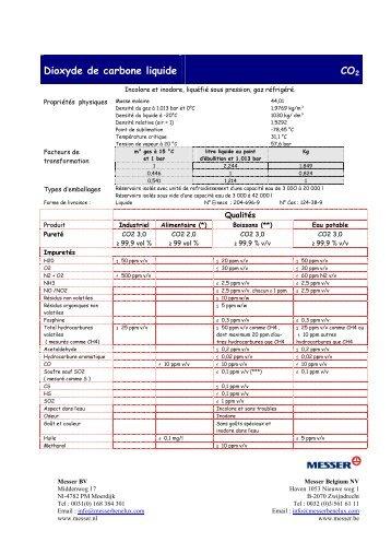 Msds clp dpd dioxyde de soufre fr - Dioxyde de carbone danger ...