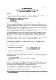 Liefer - Leistungsbeschreibung - Elk Fertighaus AG