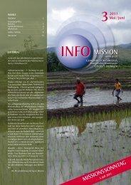 Info Mission 3-2011 - Gemeinde für Christus