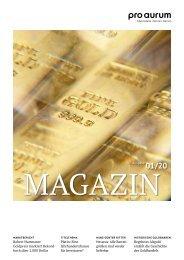 pro aurum Magazin 1/2020