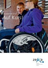 Jahresbericht 2011 - zeka, Zentren körperbehinderte Aargau