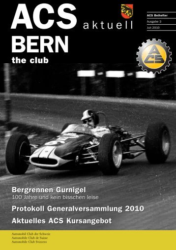 Bergrennen Gurnigel - ACS Automobil-Club der Schweiz