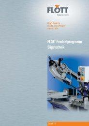 FLOTT Produktprogramm Sägetechnik