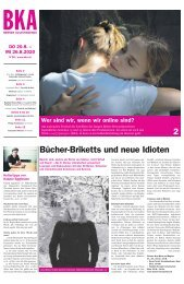 Berner Kulturagenda N°28