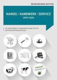 Handel, Handwerk, Service 2019/2020