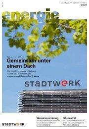 energie 1/2011 - Stadtwerk Winterthur