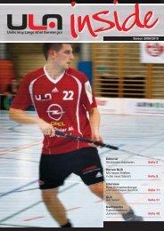 Awards, A - Unihockey Langenthal Aarwangen