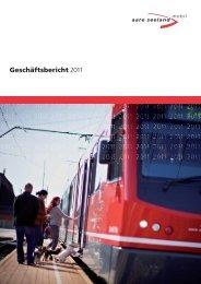 Geschäftsbericht - Aare Seeland mobil AG