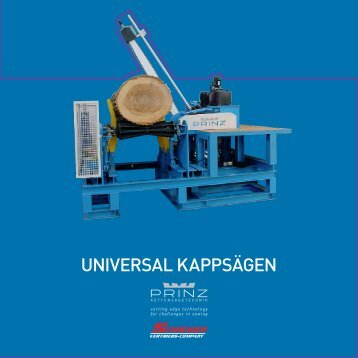 UNIVERSal KaPPSäGEN - Schneider Vertriebs-Company