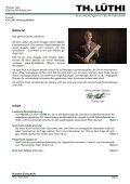 Ausgabe 02 vom April 2012 - Thomas Lüthi - Dienstleistungen für ... - Seite 2