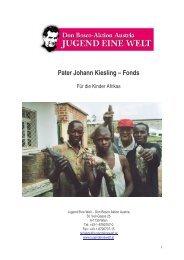 Pater Johann Kiesling – Fonds