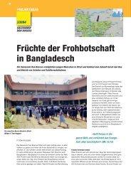 Früchte der Frohbotschaft in Bangladesch - WeltWeit