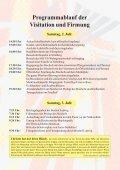 Sonntag, 3. Juli - Pfarre Kollerschlag - Diözese Linz - Page 4