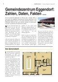 Spatenstichfeier für das Gemeindezentrum ... - Gemeinde Eggendorf - Seite 6