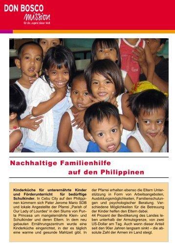 im Monat fallen für die Kinderküche pro Familie an - Don Bosco ...