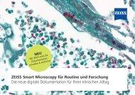 ZEISS Smart Microscopy für Routine und Forschung