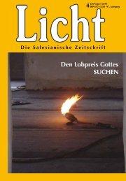 Die Salesianische Zeitschrift - Franz Sales Verlag