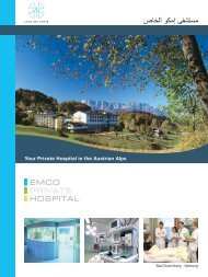 Your Private Hospital in the Austrian Alps