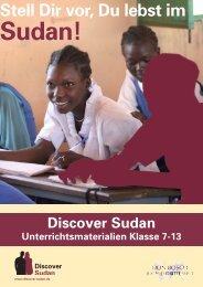 Discover Sudan Unterrichtsmaterialien Klasse 7-13