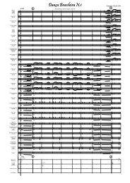 1. Dança Brasileira N.1.Score - Full Score