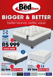 The Bed Store August 2020 Catalogue