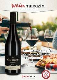 Weinzeche Weinmagazin 9_2020 – Die Kunst des Genießens
