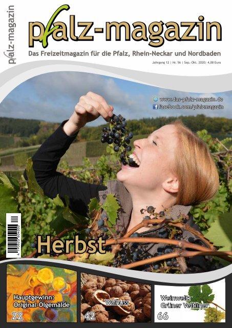 pfalz-magazin Herbst 2020 Jahrgang 12 Ausg. 56