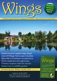 Wings August/September 2020 Issue 137