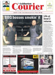 Ashburton Courier: August 13, 2020