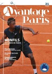 MONFILS - Ligue de Paris de Tennis