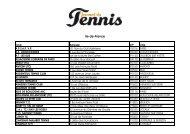Ile-de-France - Journal du Tennis