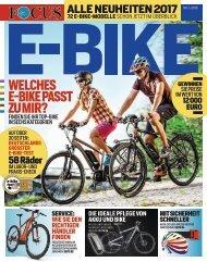 E-BIKE Magazin 2016_Vorschau