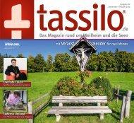tassilo - das Magazin rund um Weilheim und die Seen - Ausgabe September/Oktober 2020