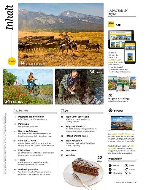 ADAC Urlaub September-Ausgabe 2020 Überregional